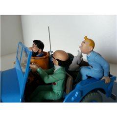 Kustharzfigur Der kleine Prinz mit Fuchs, 12 cm (Plastoy 00111)