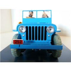 Figur Der kleine Prinz mit Fuchs, 7 cm (Plastoy 61030)