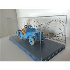 Schlüsselanhänger Der kleine Prinz mit Fuchs, 7 cm (Plastoy 61027)