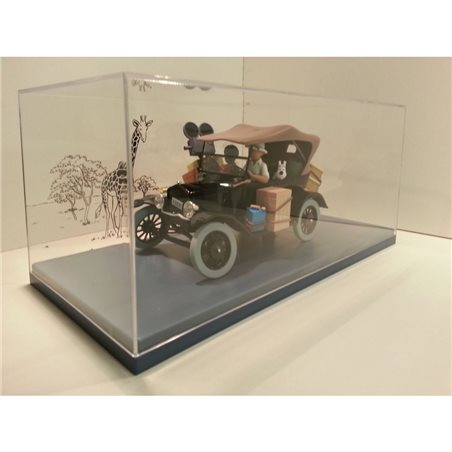 Collectible figure Mickey Mouse in racecar, 10 cm (Enesco 6000974)