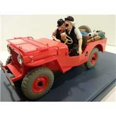 Collectible figure Goofy in racecar, 13 cm (Enesco 6000976)