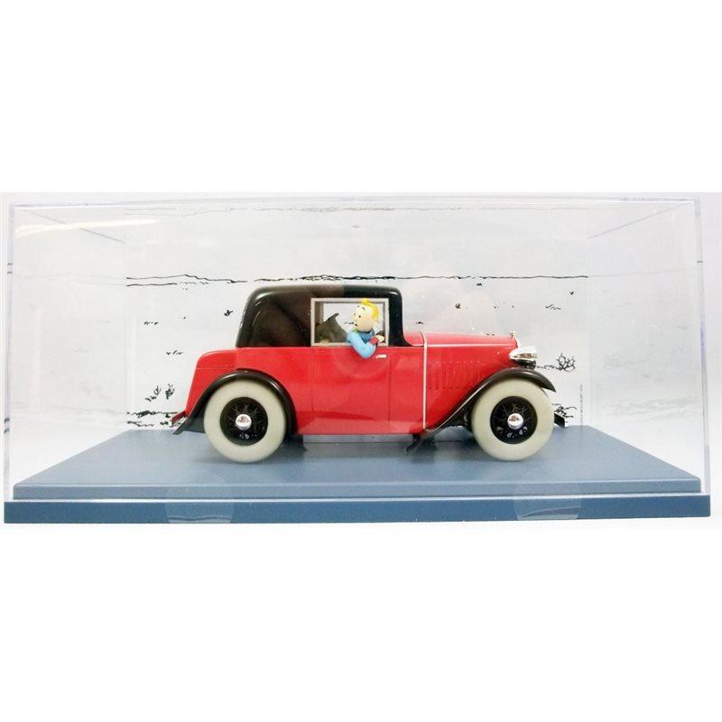 Figur Tim und Struppi auf dem Beiboot der Sirius (Moulinsart 44022)