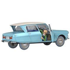 Schlüsselanhänger Der kleine Prinz im Flugzeug, 7 cm (Plastoy)