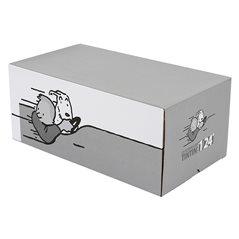 Tim und Struppi Decke Haifisch Uboot, 130x160 cm (Moulinsart 130329)