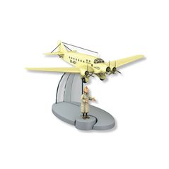 Leather Watch Moulinsart Ice-Watch Tintin in action Classic, Size M (Moulinsart 82438)