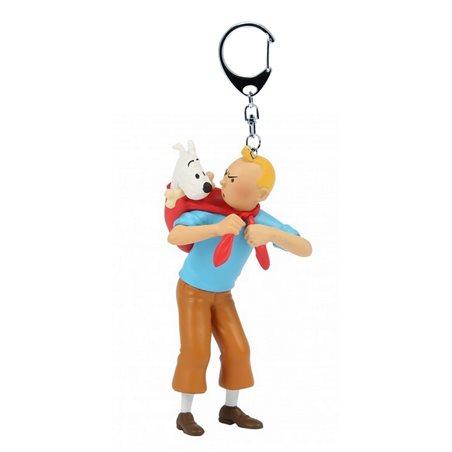 Leder Armbanduhr Tim und Struppi, Classic Größe L (Moulinsart 82439)