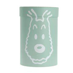 Porzellan Tasse Tim und Struppi Carte de Voeux 1972 (Moulinsart 47976)