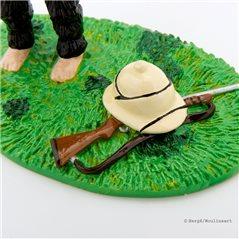 Metall-Figur Relief Tim und Struppi: Au Casque