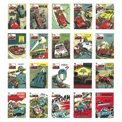 Collectible Colorized Set Leopard from Tintin in the Congo: figurine, lithographs and coffee box (Moulinsart)