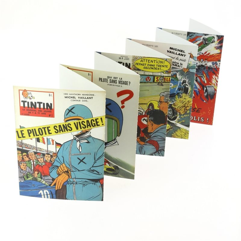 Puzzle Tintin: The Battle of Zileheroum, The King Ottokar's Sceptre with poster 50x67cm (Moulinsart 81551)