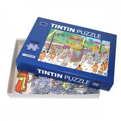 Keychain Snowy in astronaut space suit, 4,5 cm - The Adventures of Tintin (Moulinsart)