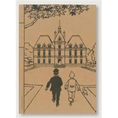 Collectible figure Set Tintin Series 9,  Carte de voeux 1972 (Moulinsart 46518-46522)