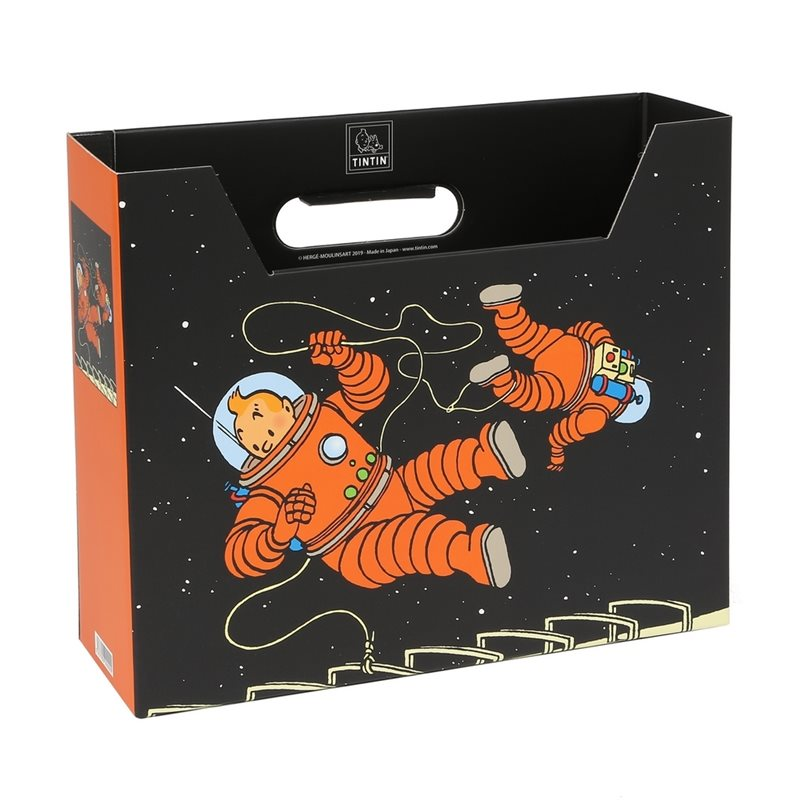 Collectible Colorized Set Lion from Tintin in the Congo: figurine, lithographs and coffee box (Moulinsart)