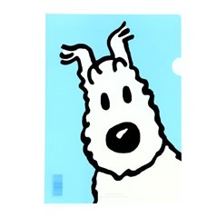 Bag Tintin and Snowy red (Moulinsart 04227)