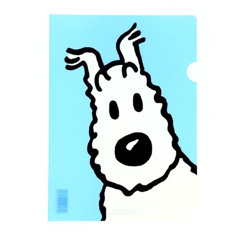 Kunststofftasche Tim und Struppi rot (Moulinsart 04227)