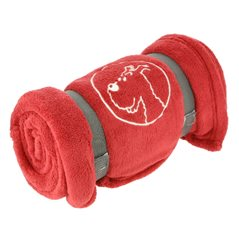 Tintin Bag: Set Tintin and Snowy, 2x bags, one in blue & one in red (Moulinsart 04289)