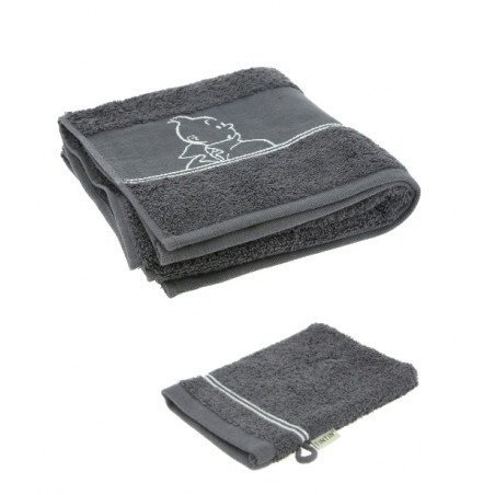 Decorative Magnet of Tintin with Haddock and Snowy on the Moon (Moulinsart 16025)