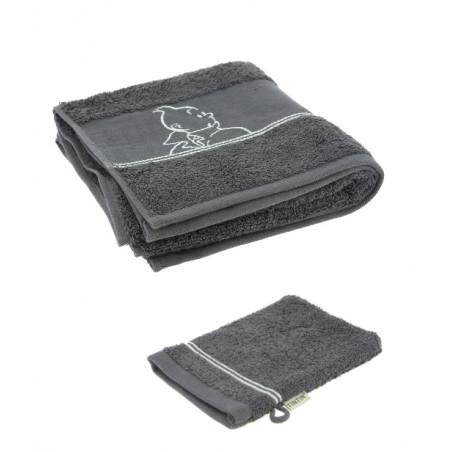 Magnet Tim und Struppi mit Haddock auf dem Mond  (Moulinsart 16025)