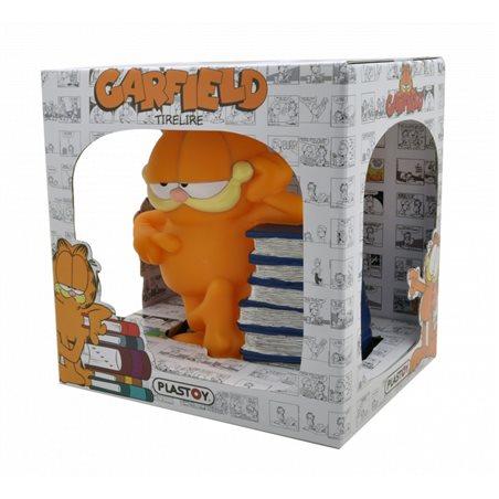 Moneybank Garfield with Pizzas, 12,5cm (Plastoy 80051)