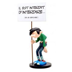 Asterix Resin Statue: Panoramix Cest Pret. Adventure of Astérix (Plastoy 00133)