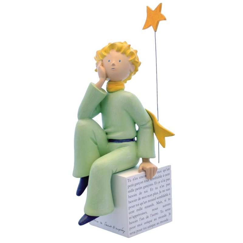 Collectible figure Tintin Fariboles Haddock and Calculus Astronaut on the Moon (Moulinsart 44024)