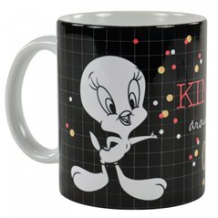 Tintin Mugs: Porcelain mug Tintin: The Lunar Rocket on the Moon (Moulinsart 47987)