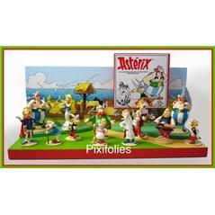 Figurine resin Tintin Beechcraft A35