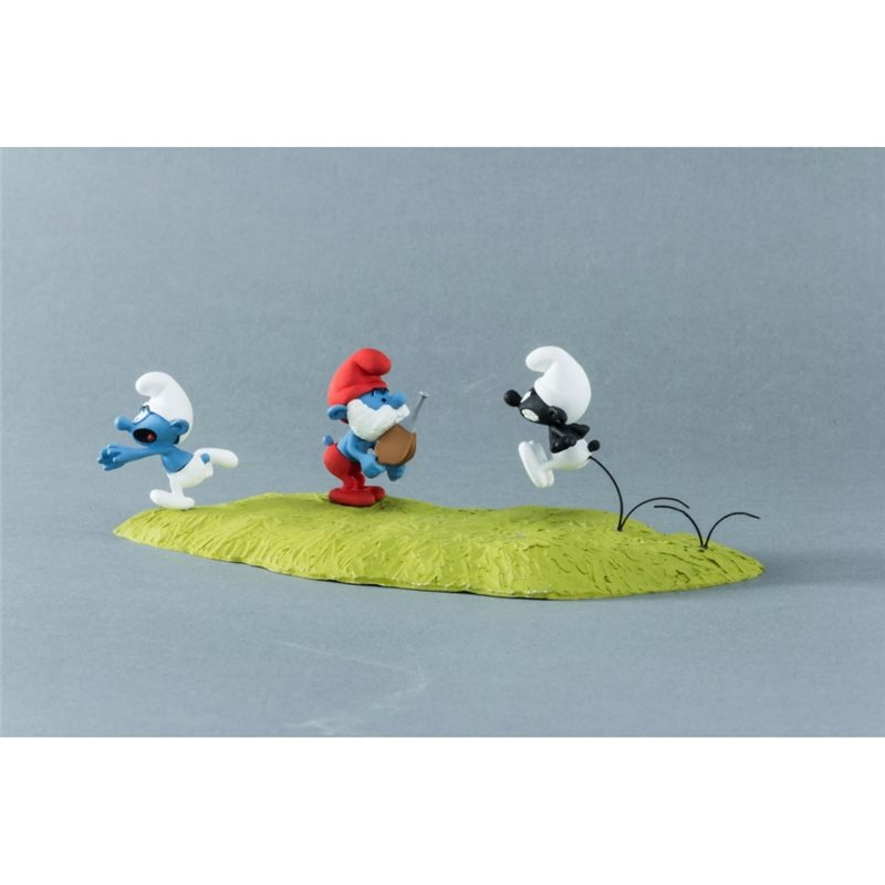 Snowy with Message, 4cm - Tintin collectible figurine (Moulinsart 42510)