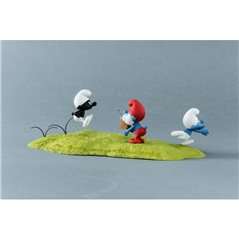 Tintin Figurine: Captain Haddock with bottle, 8cm (Moulinsart 42515)