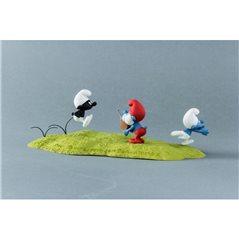 Tim und Struppi Comicfigur: Kapitän Haddock mit Flasche, 8cm (Moulinsart 42515)