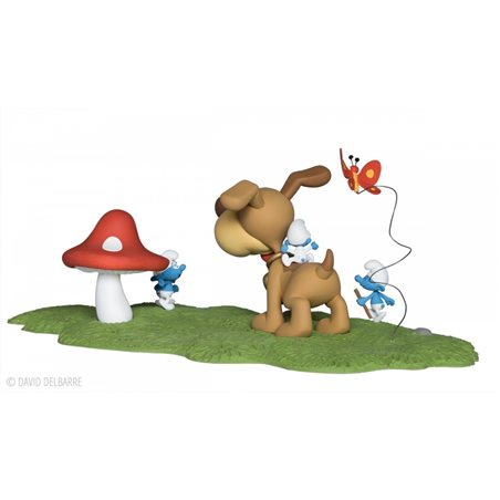 Professor Calculus The Gardener, 8cm - Tintin collectible figurine (Moulinsart 42516)