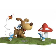 Keychain Tintin in Kilt, 8 cm - The Adventures of Tintin (Moulinsart)