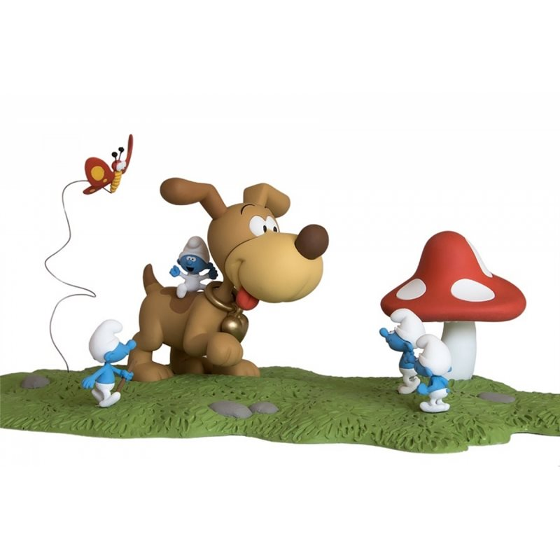 Keychain Tintin in Kilt, 8 cm - The Adventures of Tintin (Moulinsart)