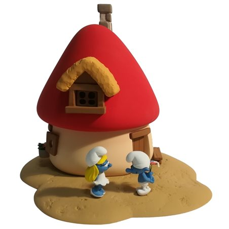 Keychain Snowy with Message, 4 cm - The Adventures of Tintin (Moulinsart)