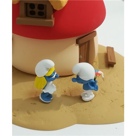 Keychain Captain Haddock with bottle, 8 cm - The Adventures of Tintin (Moulinsart)