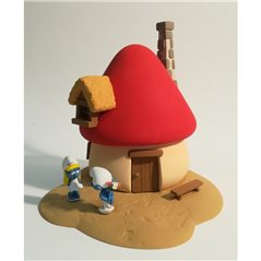 Collectible figurine Tintin Diver in scaphandre suit, 12 cm (Moulinsart 42229)