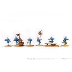 Figur Kunstharz Tim und Struppi Arumbaya Fetisch, 25 cm (Moulinsart 46406)