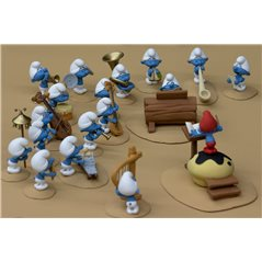 "Collectible resin model Tintin and Snowy ""Hiker!"" (Moulinsart 47000)"
