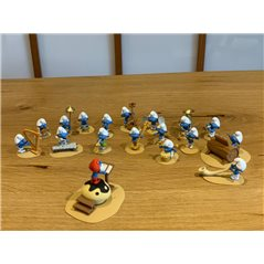 Collectible figurine Tintin: Tchang, 12 cm (Moulinsart 42228)