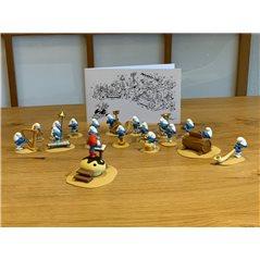 Wandkalender 2021 International Tim und Struppi Save the Planet, 30x30 cm (Moulinsart 24442)