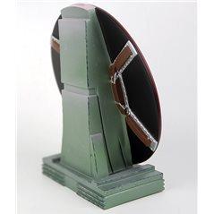 Tim und Struppi Figur mit Professor Siclone mit weißem Elefant, 37cm (Moulinsart 44025 Fariboles)