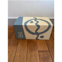 Tintin Transport Model car: The Red Amilcar of the Soviets Nº38 1/24 (Moulinsart 29938)