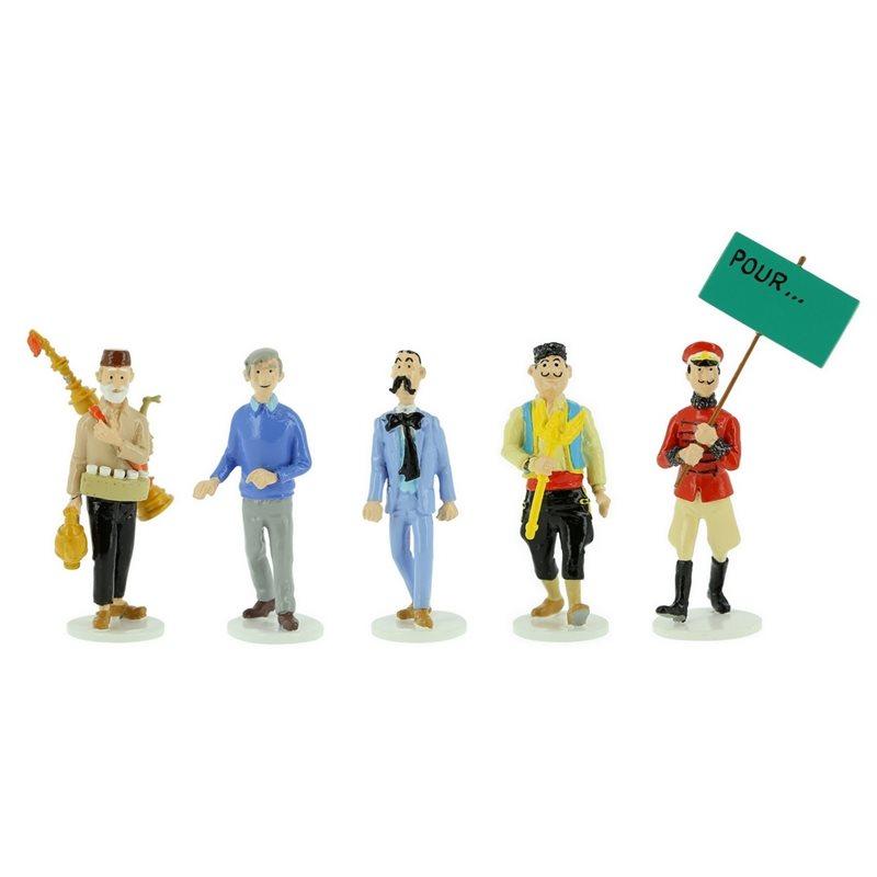 Tintin Transport Model car: The Yellow Chrysler Nº39 1/24 (Moulinsart 29939)