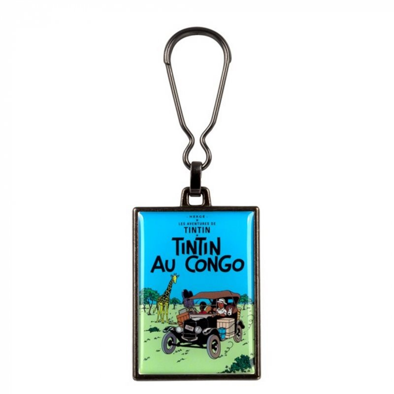 Tintin Ground Coffee Box: Tintin in America colorized, Campfire (Moulinsart 17006)
