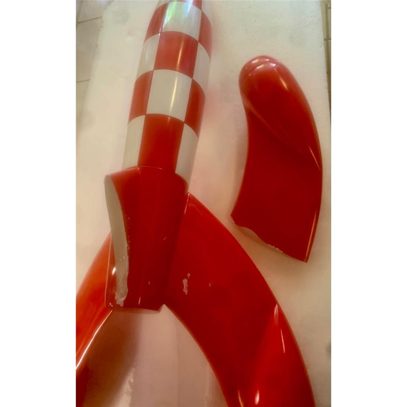 Smurf Statue Resin: Smurfette House with two figurines (Fariboles MA1)