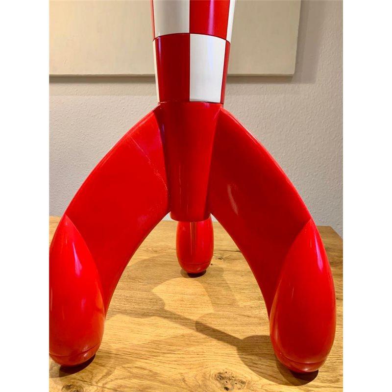 Tintin Figurines: Tintin, Haddock and Snowy Cosmonauts  (Moulinsart 29255)