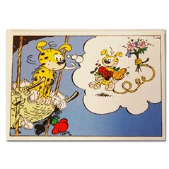 Metal figurine Impedimenta with broom, Pixi