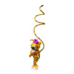 Asterix Pixi Figurine: Cacofonix the bard (Pixi 6528)